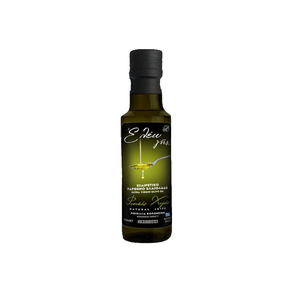 εξαιρετικά παρθένο ελαιόλαδο κορωνέικης ποικιλίας 100 ml