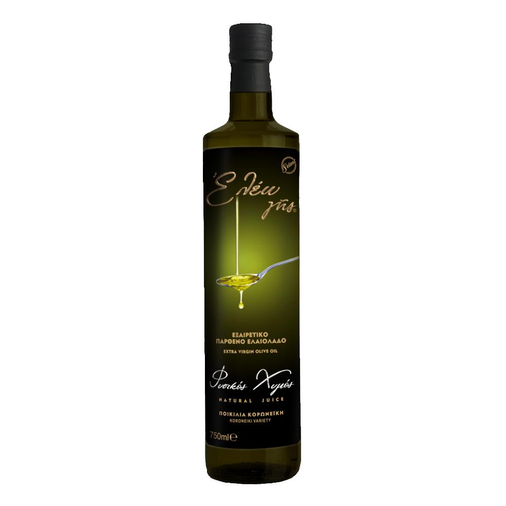 εξαιρετικά παρθένο ελαιόλαδο κορωνέικης ποικιλίας 750 ml